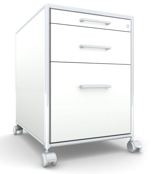 Modul space / Caisson à roulettes 1 tiroir + 1 dossiers suspendus Bosse (ref. 13502i)