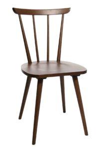W-1960 / Chaise bistrot Noyer Wagner (ref. 13519)