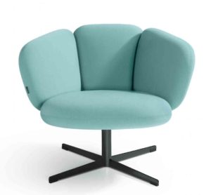 Bras / Fauteuil lounge Pied 4 branches Artifort (ref. 13705i)