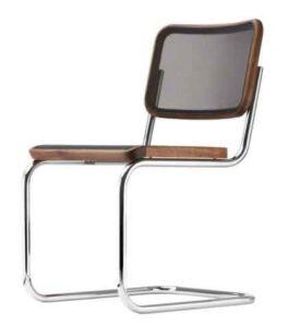 S 32 N Thonet Pure Materials / Chaise design résille Marcel Breuer Thonet (ref. 13766)