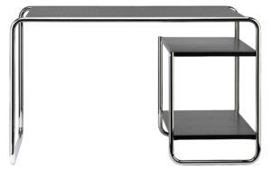 S 285/2 Thonet / Bureau Marcel Breuer L122 cm 2 tablettes Noir Thonet (ref. 13774)