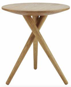 Thonet 1025 / Table d'appoint H48 x D45 cm Thonet (ref. 13834i)