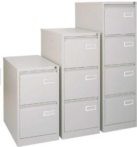 Bisley / Classeur simple Dossiers suspendus 3 tiroirs Bisley (ref. 13909i)