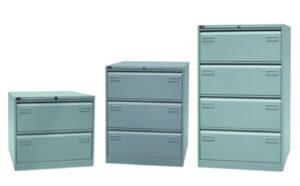 Bisley / Classeur double 4 tiroirs dossiers suspendus Bisley (ref. 13919i)