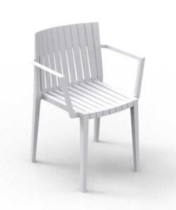 Spritz / Chaise avec accoudoirs empilable Vondom (ref. 14112i)