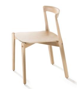 Helix / Chaise en bois design B-Line (ref. 14229)