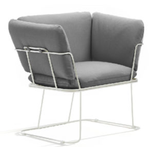 Merano / Fauteuil lounge B-Line (ref. 14238i)