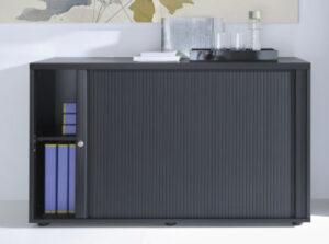 Mdd standard / Armoire mi-haute à rideaux L120 x H148 cm (ref. 14265i)
