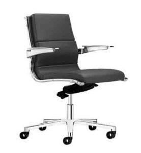 Sit it Classic / Fauteuil manager en cuir Sitland (ref. 14308i)
