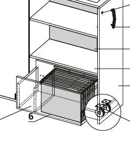 Cargo / Module Dossiers Suspendus pour Cargo (ref. 14448)