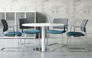 Meeting / Table de réunion ronde (ref. 14802i)