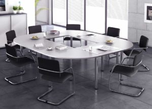 Officeteam / Table de réunion L320 x P240 cm MBEco (ref. 14833i)