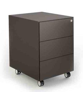 Kono / Caisson à roulettes 3 tiroirs About Office (ref. 14926i)
