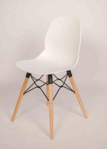 Artwood / Chaise visiteur Pieds bois MBDesign (ref. 14929i)