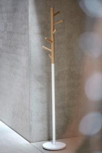 Kent / Porte-manteau H182cm Blanc Jankurtz (ref. 14974)