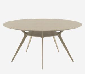 Biplane 40A / Table ronde Ø 154 cm Ecru Alias (ref. 14984)