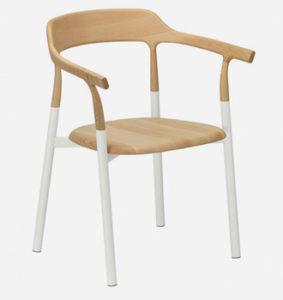 Twig comfort / Chaise de réunion avec dossier Frêne Alias (ref. 14995)