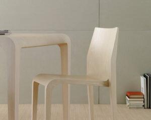 Laleggera / Chaise en bois Alias (ref. 15013i)
