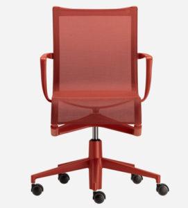 Rollingframe 44 / Chaise de réunion avec accoudoirs Alias (ref. 15014)