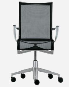 Rollingframe + 47 / Chaise de réunion avec accoudoirs Alias (ref. 15015)