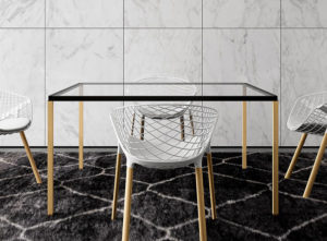 Tavolo Zero Square / Table de réunion carrée Alias (ref. 15021i)
