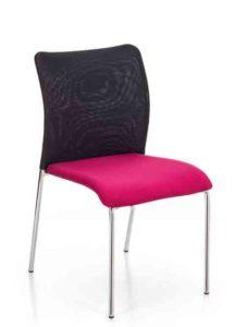 Eva / Chaise de réunion sans accoudoirs MBEco (ref. 15040)