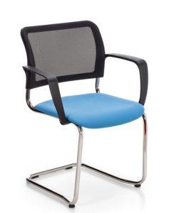 Tina / Chaise de réunion avec accoudoirs MBEco (ref. 15043)