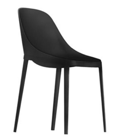 Elle / Chaise design Noir Alias (ref. 15188)