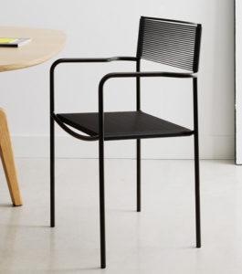 Spaghetti / Chaise visiteur fil nilon Alias (ref. 15190)