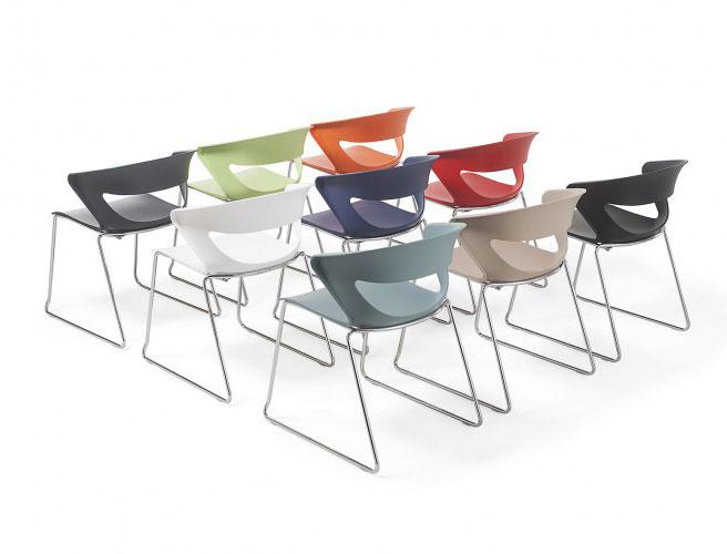 Kicca / Chaise plastique Kastel (ref. 15239i)