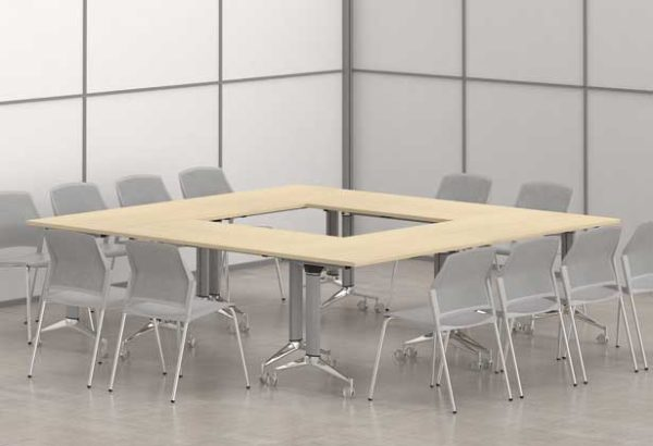Seatle / Table rabattable sur roulettes MBEco (ref. 15440i)