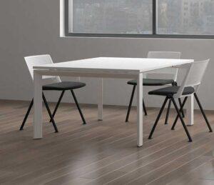 Meetingtime / Table de réunion carrée MBEco (ref. 15568i)