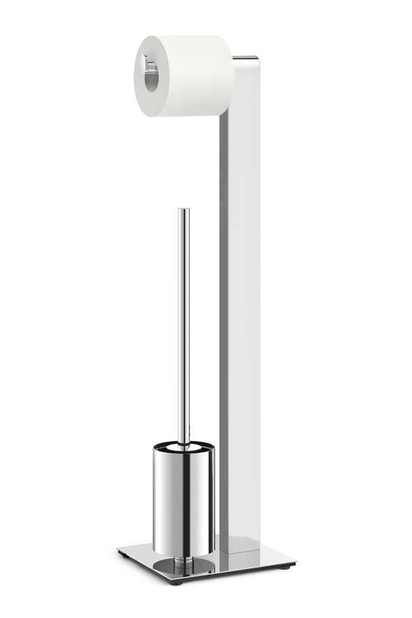 Atore / Serviteur WC acier brillant Zack (ref. 15659)