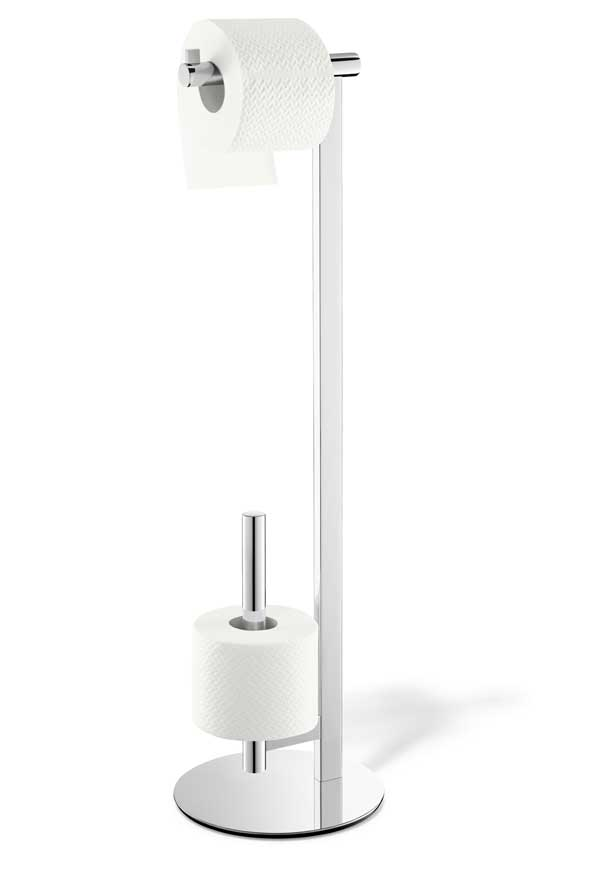 Scala / Serviteur papier toilette acier brillant Zack (ref. 15660)