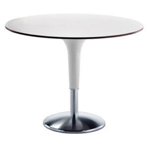 Zanziplano / Table ronde de réunion Ø 120 cm Blanc Rexite (ref. 16141)