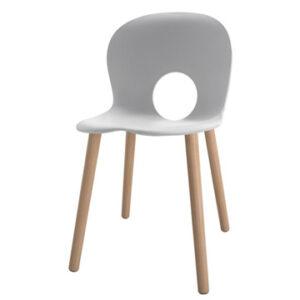 Olivia Wood / Chaise avec pieds en bois Rexite (ref. 16149i)