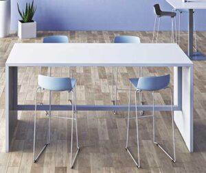 Eloise / Table haute rectangulaire L180 x P80 cm Eol (ref. 16265i)