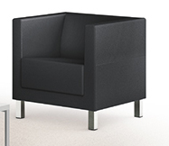 Galway / Fauteuil similicuir Eol (ref. 16272)