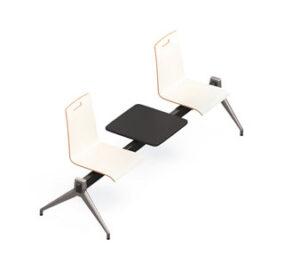 Evasion / Chaises sur poutre 2 places avec tablette Eol (ref. 16302)