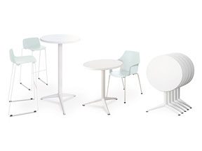 Outdoor / Table ronde rabattable Eol (ref. 16303)