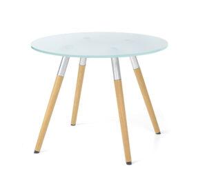 Bip / Table basse ronde quatre pieds Eol (ref. 16341)