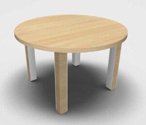 Kara / Table ronde de réunion ø120 cm Eol (ref. 16366i)
