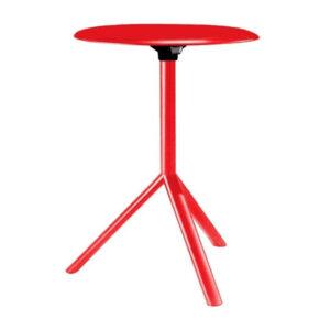 Miura / Table d'appoint ronde Ø 60 cm rabattable Métal Plank (ref. 16555i)