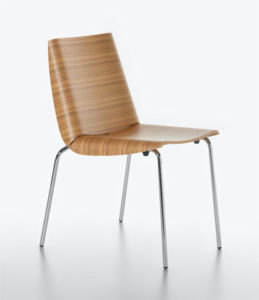 Millefoglie / Chaise en bois design Plank (ref. 16602)
