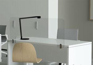Office Protect / Ecran de protection latéral méthacrylate H49 cm MBEco (ref. 16621i)