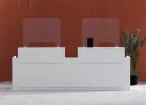 Office Protect / Ecran de protection haut H70 cm MBEco (ref. 16323i)