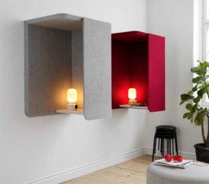 Domo Wall / Cabine acoustique murale Abstracta (ref. 16945i)