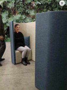 Chat Booth / Alcove acoustique 2 personnes Slalom (ref. 17026i)