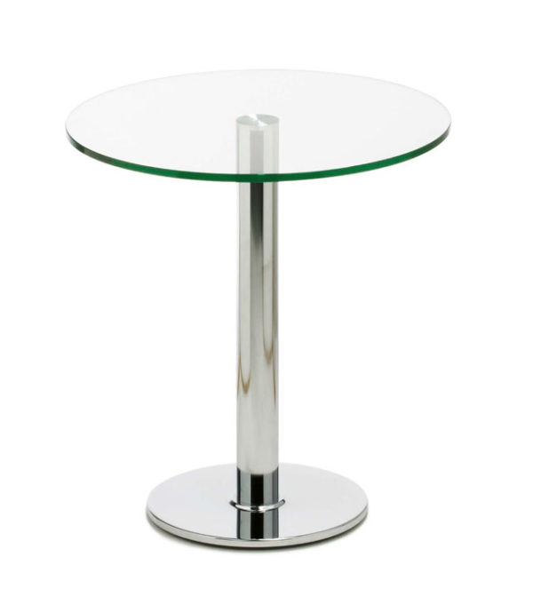 Perry / Table ronde en verre MBDesign (ref. 17240i)