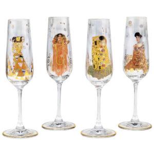 Gustav Klimt / Flûtes à Champagne par 4 Ars mundi (ref. 17508)